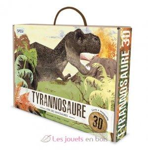 Le tyrannosaure 3D, l'ère des dinosaures - sassi - 9788830301269 -