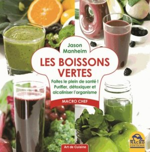 Les boissons vertes - macro - 9788862297172 -