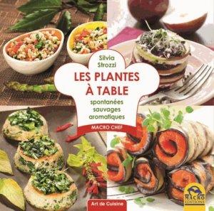 Les plantes à table - macro - 9788862297417 -