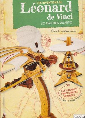 Les inventions de Léonard DE VINCI - sassi - 9788868609726 -