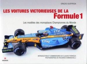 Les voitures victorieuses de la Formule 1. Les modèles des monopostes championnes du monde - Gremese - 9788873017165 -