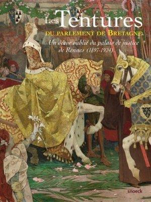 Les tentures du parlement de Bretagne - snoeck publishers - 9789461612885 -