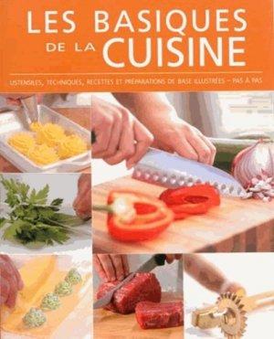 Les basiques de la cuisine. Ustensiles, techniques, recettes et préparations de base illustrées, pas à pas - yoyo - 9789462440562 -