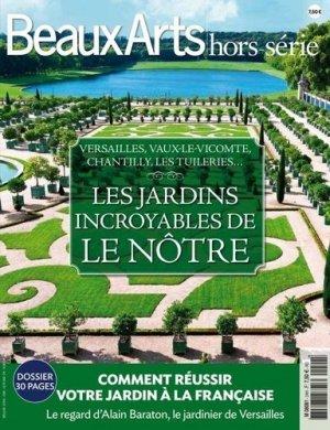 Les jardins incroyables de Le Nôtre - beaux arts - 9791020400123 -