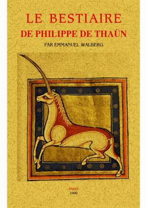 Le bestiaire de Philippe de Thaün - maxtor éditions - 9791020801845 -