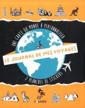 Le journal de mes voyages - vagnon - 9791027103836 -