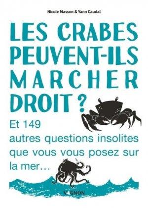 Les crabes peuvent-ils marcher droit ? - vagnon - 9791027104512 -