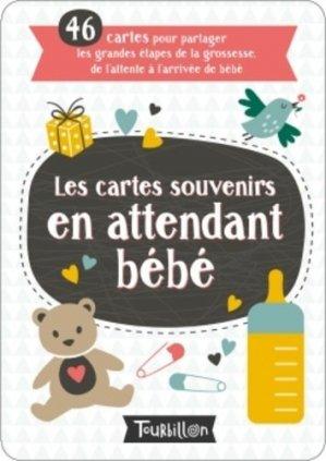 Les cartes souvenirs en attendant bébé - Tourbillon - 9791027604630 -