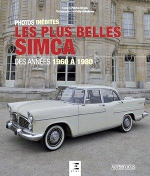 Les plus belles Simca - Des années 1960 à 1980 - 0 - 9791028301583 -