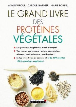 Le grand livre des protéines végétales - leduc - 9791028502430 -