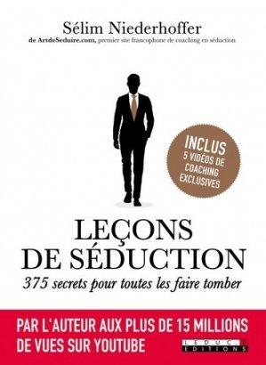 Leçons de séduction. 375 secrets pour toutes les faire tomber - leduc - 9791028504335 -