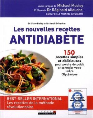 Les nouvelles recettes antidiabète - leduc - 9791028504724 -
