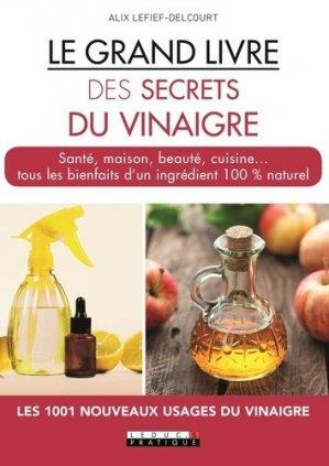 Le grand livre des secrets du vinaigre - leduc - 9791028513412
