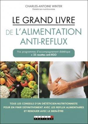 Le grand livre de l'alimentation anti-reflux - leduc - 9791028515676 -