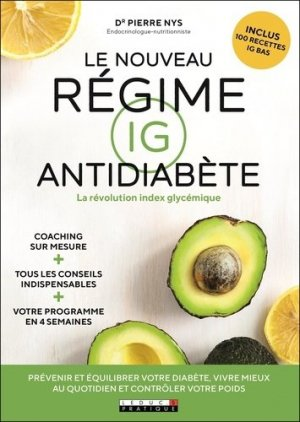 Le nouveau régime IG antidiabète - leduc - 9791028515706 -