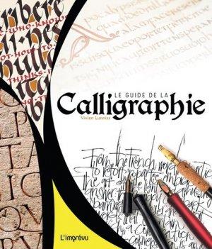 Le guide de la calligraphie - de l'imprevu - 9791029504204 -