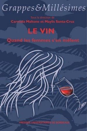 Le vin - presses universitaires de bordeaux - 9791030003079 -