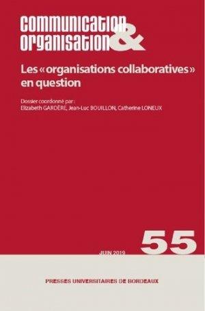 Les organisations collaboratives - Presses Universitaires de Bordeaux - 9791030003703 -