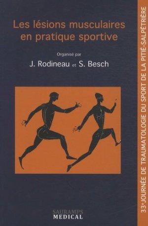 Les lésions musculaires en pratique sportive - sauramps medical - 9791030300291