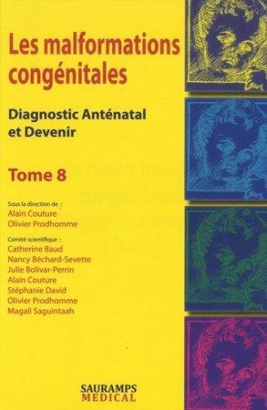 Les malformations congénitales - sauramps medical - 9791030300352 -