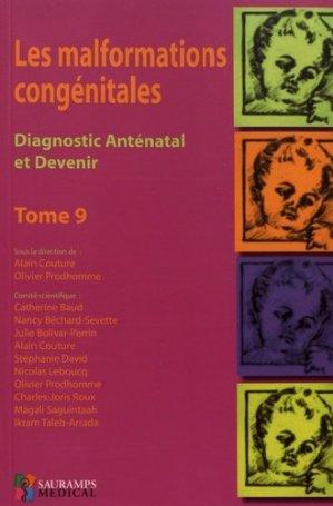 Les malformations congénitales Tome 9 - sauramps medical - 9791030301458 -