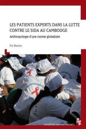 Les patients experts dans la lutte contre le sida au Cambodge - publications de l'universite de provence - 9791032000472