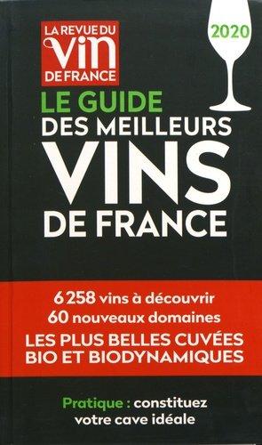 Le guide des meilleurs vins de France 2020 - la revue du vin de france - 9791032304815 -