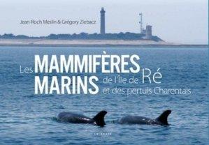Les mammifères marins de l'île de Ré et des pertuis charentais - geste - 9791035304102 -