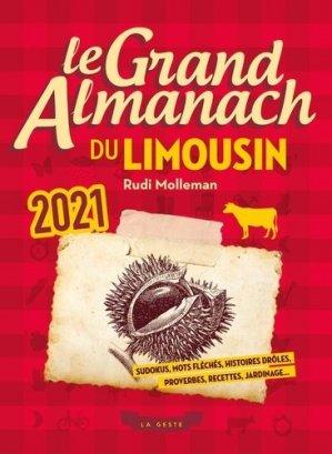 Le grand almanach du Limousin - geste - 9791035306939 -