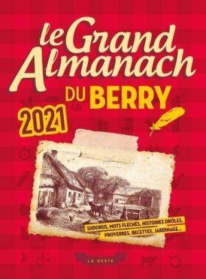 Le grand almanach du Berry - geste - 9791035307363 -