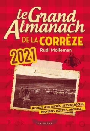 Le grand almanach de la Corrèze - geste - 9791035307431 -