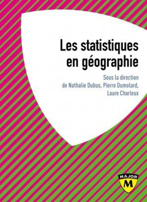 Les statistiques en géographie - Belin - 9791035802172 -