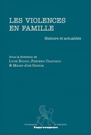 Les violences en famille - hermann - 9791037002853 -