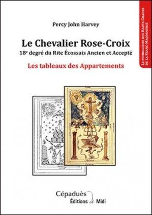 Le Chevalier Rose-Croix - Cépaduès - collection de Midi - 9791090138513 -