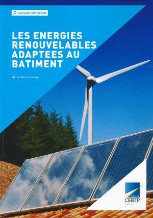 Les énergies renouvelables adaptées au bâtiment - ginger cated - 9791090187252 -