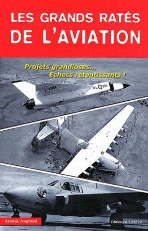 Les grands ratés de l'aviation - altipresse - 9791090465046 - majbook ème édition, majbook 1ère édition, livre ecn major, livre ecn, fiche ecn