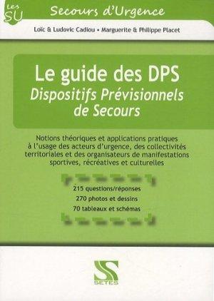 Le guide des DPS - setes - 9791091515115 -