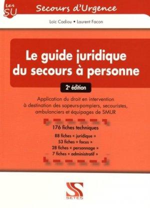 Le guide juridique du secours à personne - setes - 9791091515412 -