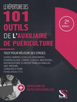 Le répertoire des 101 outils de l'auxiliaire de puériculture - setes - 9791091515603 -