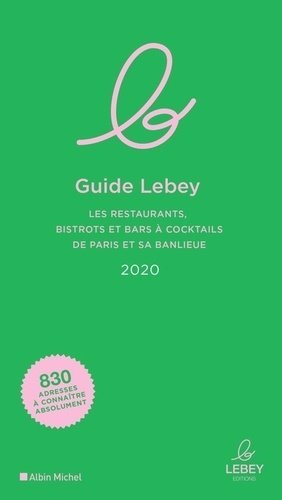 Le guide Lebey - Albin Michel - 9791095153108 -