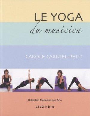 Le yoga du musicien - Alexitère - 9791095334019 -
