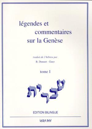 Légendes et commentaires sur la genèse - vera pax - 9782950809513 -