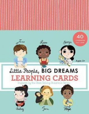 LITTLE PEOPLE BIG DREAMS LEARNING CARDS - quarry - 9781631066016 -