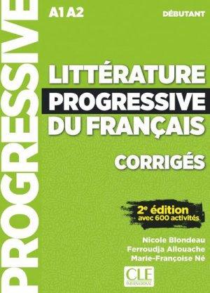 Littérature progressive du français, corrigés - cle international - 9782090351781 -