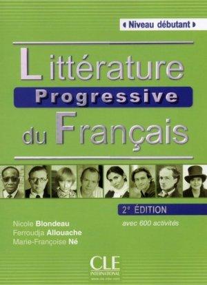 Littérature progressive du français - Nathan - 9782090380729 -
