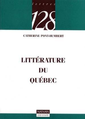 LITTERATURE DU QUEBEC  - NATHAN - 9782091903569 -