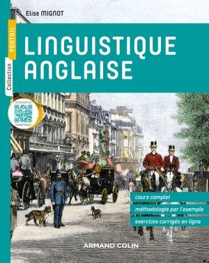 Linguistique anglaise - armand colin - 9782200612276 -