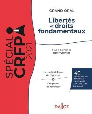 Libertés et droits fondamentaux - dalloz - 9782247208432 -