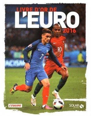 Livre d'or de l'Euro 2016 - solar - 9782263147890 -
