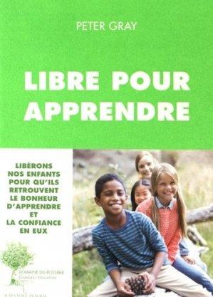 Libre pour apprendre - actes sud  - 9782330068868